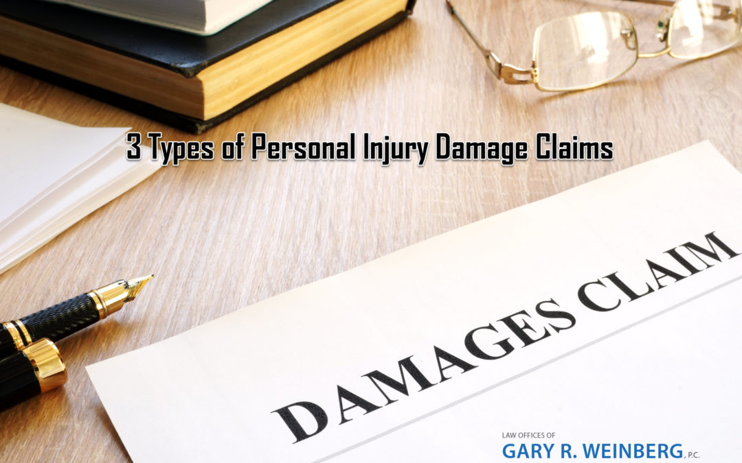 What are the 3 Types of Damages in a Personal Injury Case?